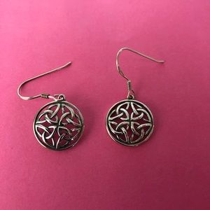 Jewelry - Sterling silver Celtic earrings